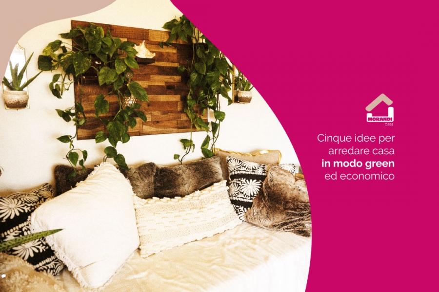 Cinque idee per arredare casa in modo green ed economico