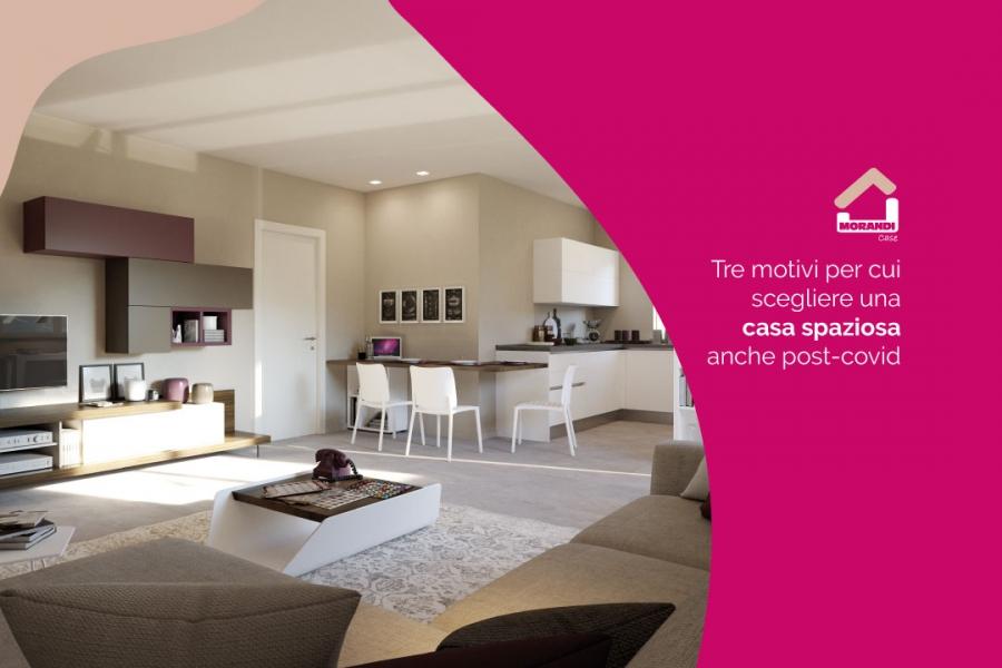 Tre motivi per cui scegliere una casa spaziosa anche post Covid