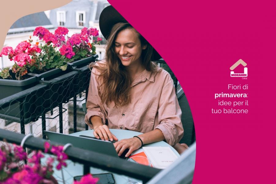 Fiori di primavera: idee per il tuo balcone